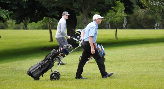 The study compared over-65s who played golf against those who did not