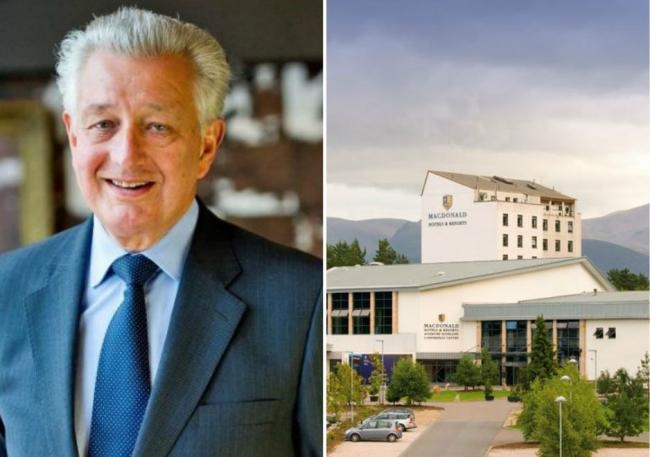 Donald Macdonald will retain 20 hotels in the UK and Spain.