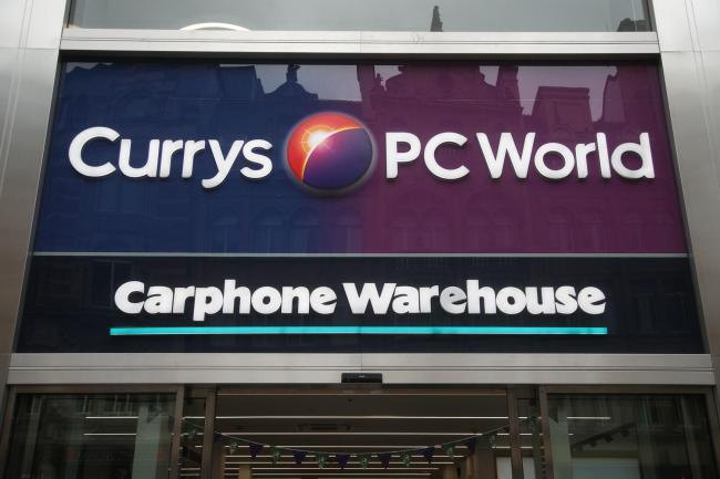 File photo dated 29/05/18 of a branch of Carphone Warehouse in Currys PC World, in central London. Dixons Carphone has said a data breach saw around 10 million records containing personal data accessed - more than it first reported. PRESS ASSOCIATION Phot