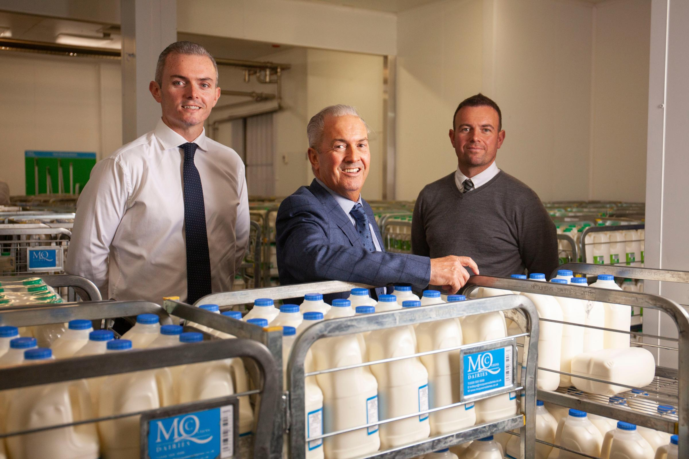 Dairy moves to bigger site in doorstep drive