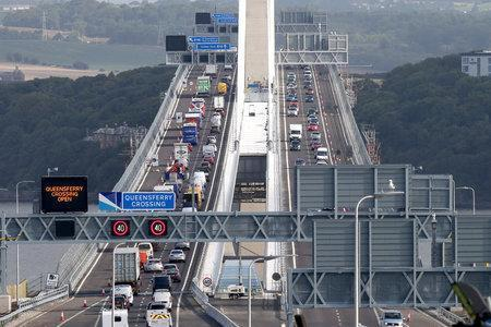 Traffic on the Queensferry Crossing has increased