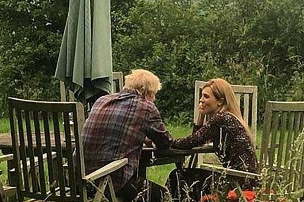 Boris Johnson And Carrie Symonds Publish Loved Up Photos