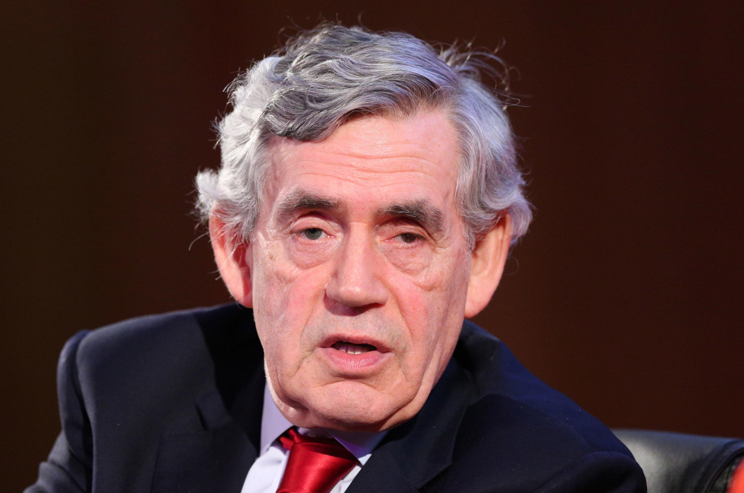 Gordon Brown attacks Boris Johnson as narrow English Nationalist whose premiership would risk future of UK