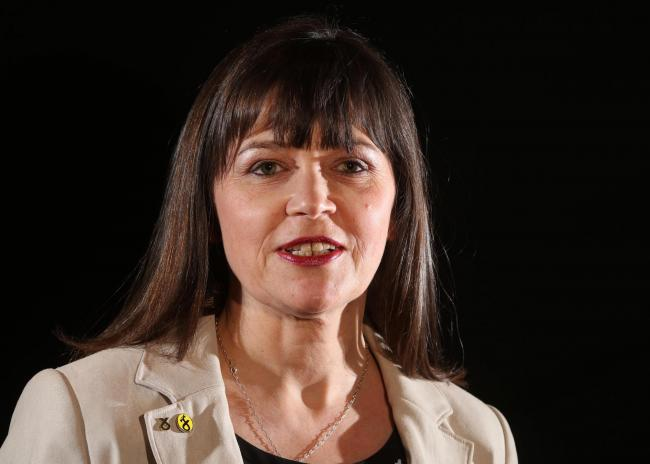 amphoto - Clare Haughey MSP (NEW FACE) (SNP GAIN) SNP for the Rutherglen constituency in the Scottish Parliament General Election 2016 (Spelling not Claire Haughey)   (ARCHIVE if you wish to).No Syndication No Sales.Picture © ALLAN MILLIGAN Sa