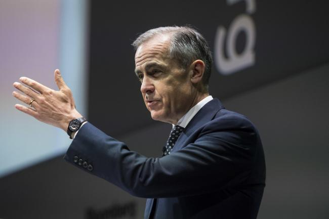 Bank of England Govenor Mark Carney. Picture: Victoria Jones/ PA Wire.