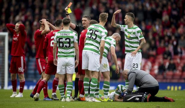 Celtic's Ryan Christie told his facial injuries were worse
