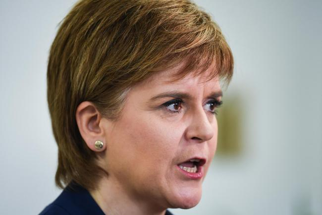 Nicola Sturgeon hits out at 'terrified Tories' after indyref2 rejection
