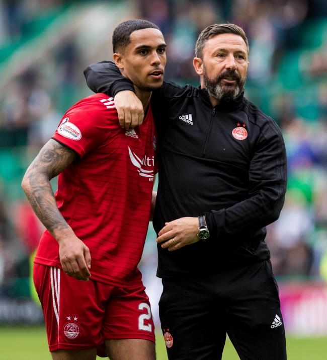 Max Lowe enjoyed his time working with Aberdeen manager Derek McInnes