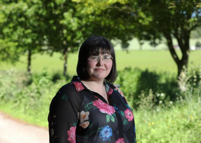 Gill Skene from Oldmeldrum, Aberdeenshire, developed PTSD after a traumatic birth in 2012