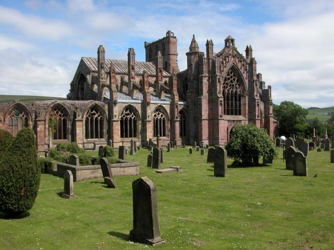 Melrose Abbey (Photo Getty Images)