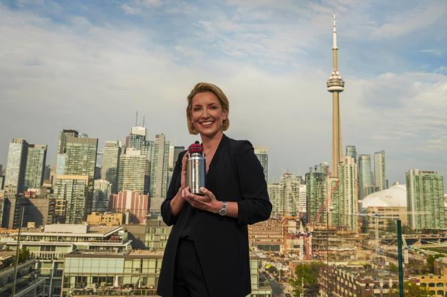 Lee Schofield of the Edinburgh-based Magnum whisky liqueur business in Toronto in Canada, where the drink has won a following.