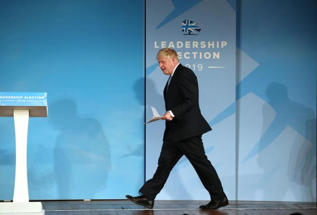 Boris Johnson says the UK should not fear at no-deal Brexit
