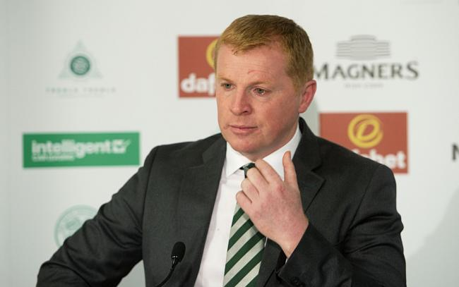 Neil Lennon says he has never heard of Sergio Quintero PHOTO: PA
