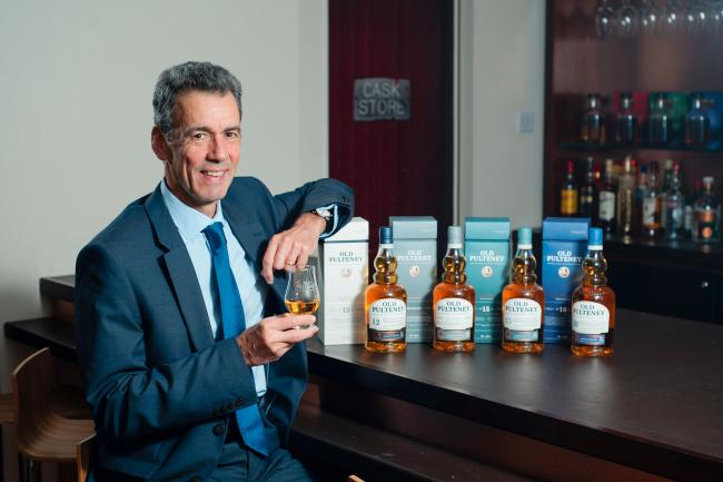 AIRDRIE, UK - 26th September 2018: Inver House Distillers, Managing Director, Martin Leonard.  (Photograph: MAVERICK PHOTO AGENCY)