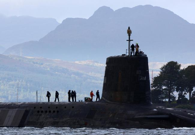Could removing Trident from Scotland be part of price Sturgeon will ask to prop up Corbyn Govt?