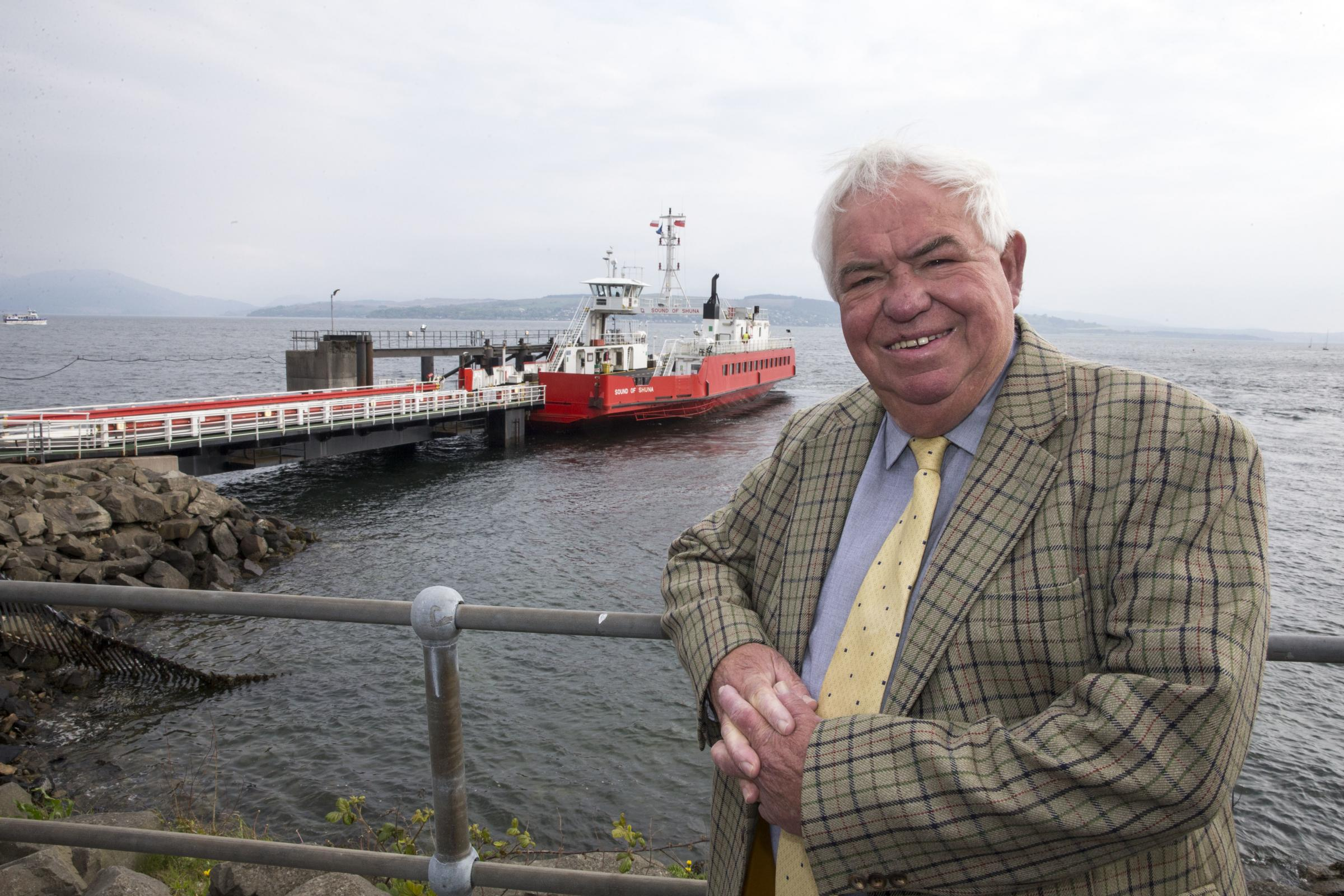 Outgoing ferry boss: Time to break up islands network