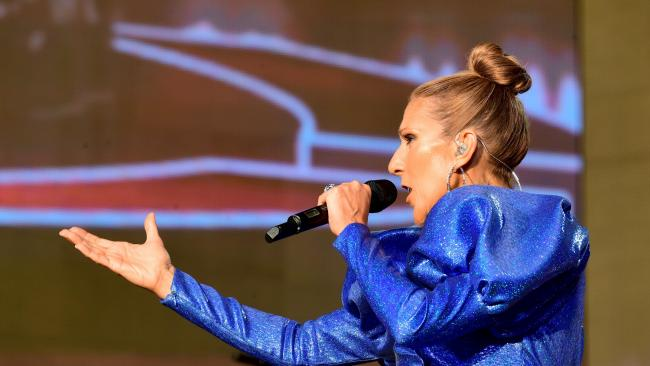 Celine Dion calls for peace and harmony at BST festival