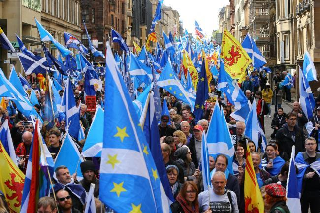 Glasgow independence rally cancelled due to weather - but march still going ahead