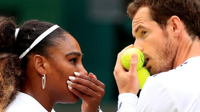 Serena Williams 'wanted to be in crowd' to watch her doubles match with Murray