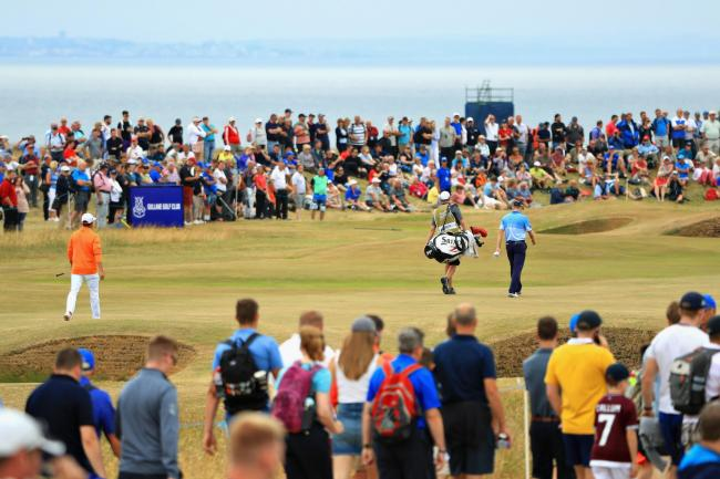 Fans flock to the Scottish Open