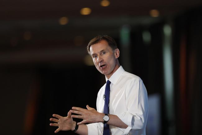 Hunt ahead in Scotland? Camp's poll suggests most Scottish Tory councillors behind underdog