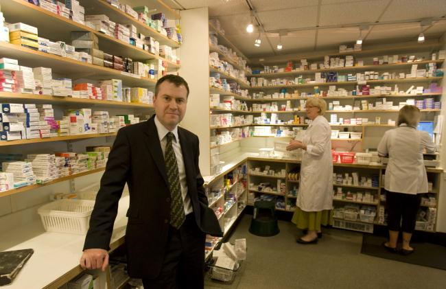 Allan Gordon managing director of Walter Davidson Pharmacy chain