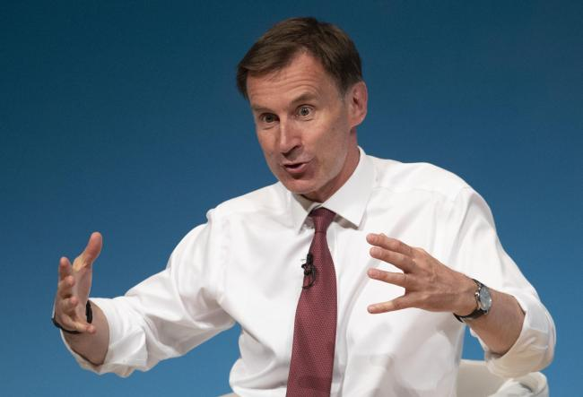 Hitting back: Hunt risks Trump wrath by rebuking him for being 'disrespectful' to UK
