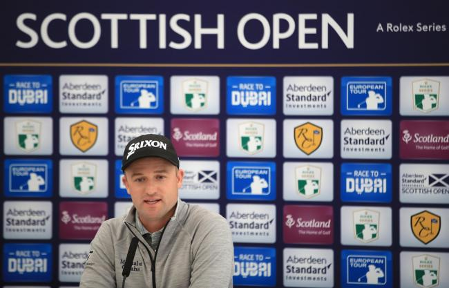 Russell Knox is raring to go at the Scottish Open