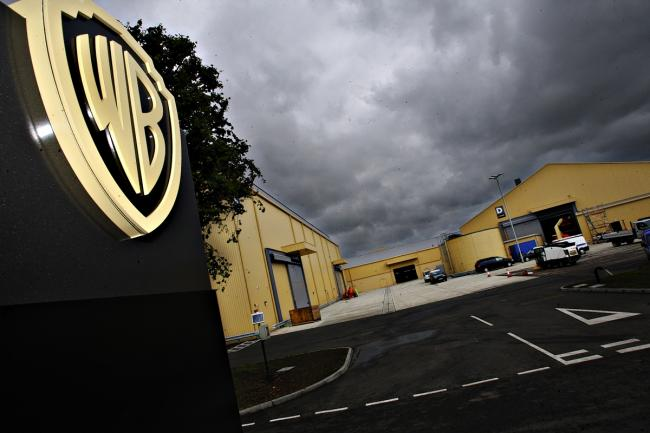 Fire breaks out at Warner Brothers studio in London