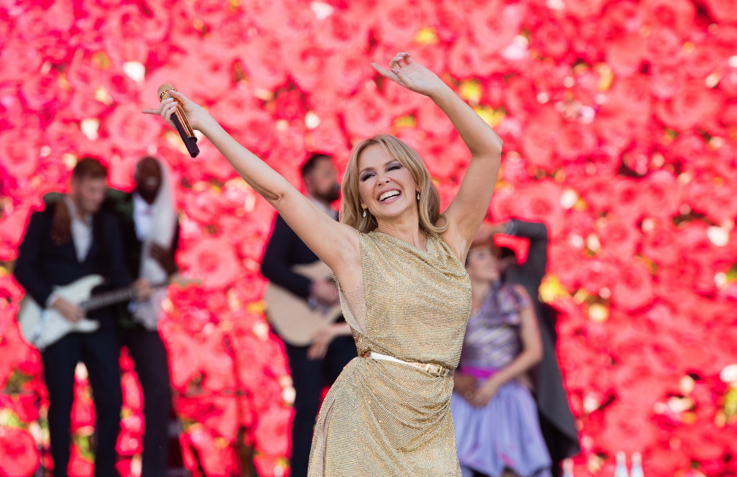 Review: Kylie Minogue, Edinburgh Castle