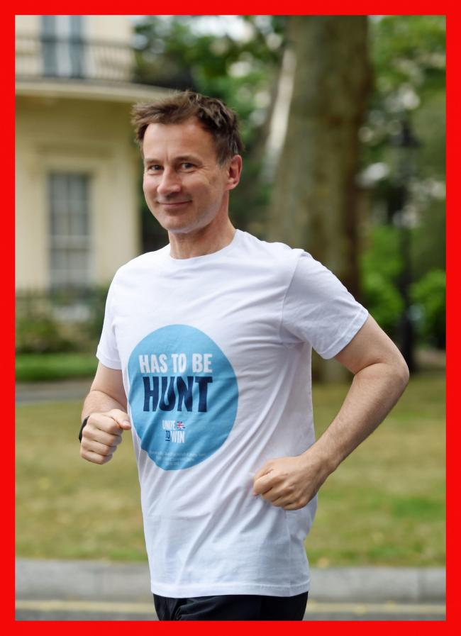 Still in the running: Hunt's hopes rise as fewer than half of Tory members have cast vote, say party sources