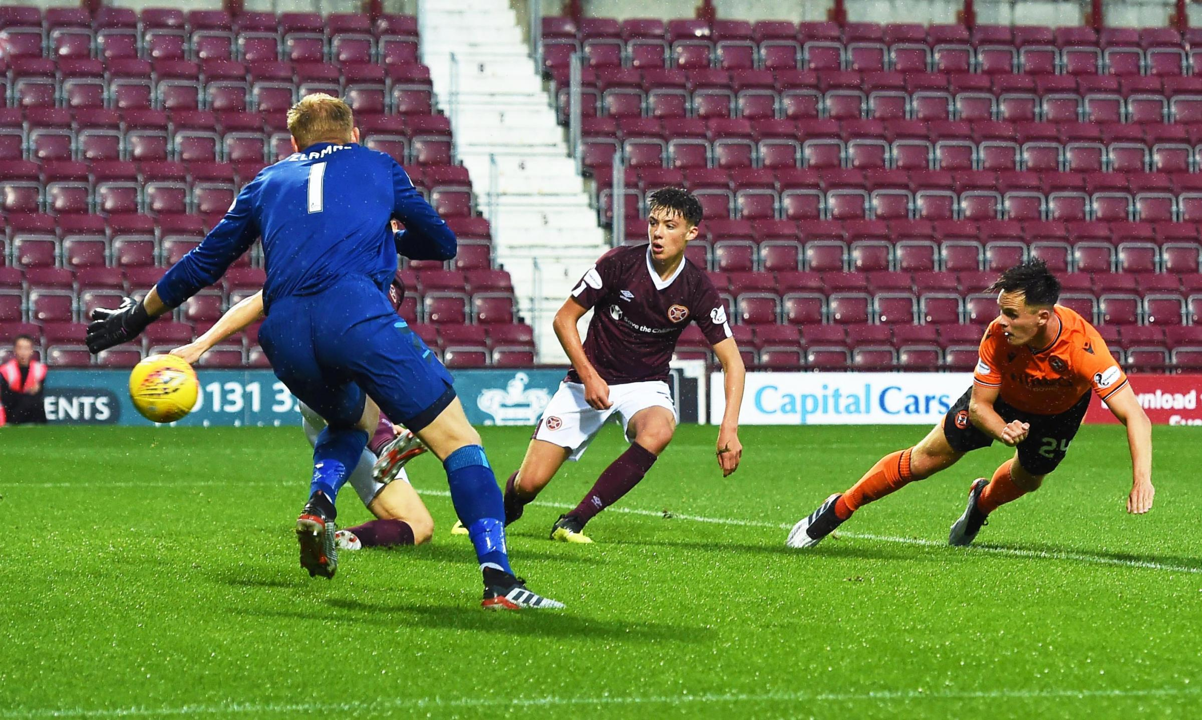 Hearts 1 Dundee United 1: Neilson proud of Shankland despite shootout defeat