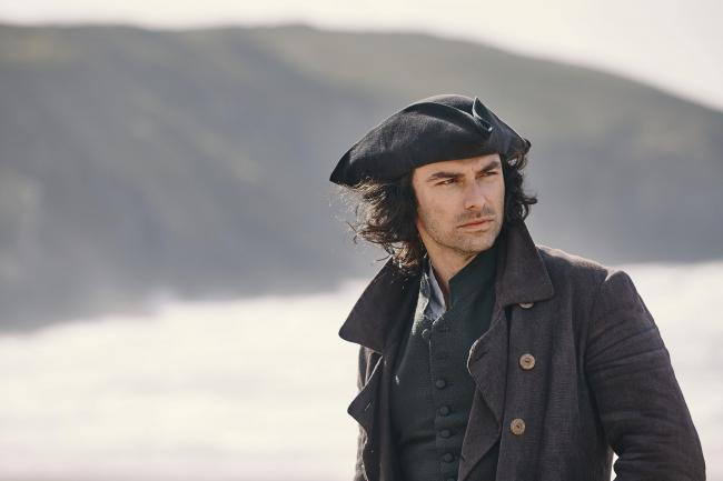 Aiden Turner returns as Ross Poldark, lover and fighter