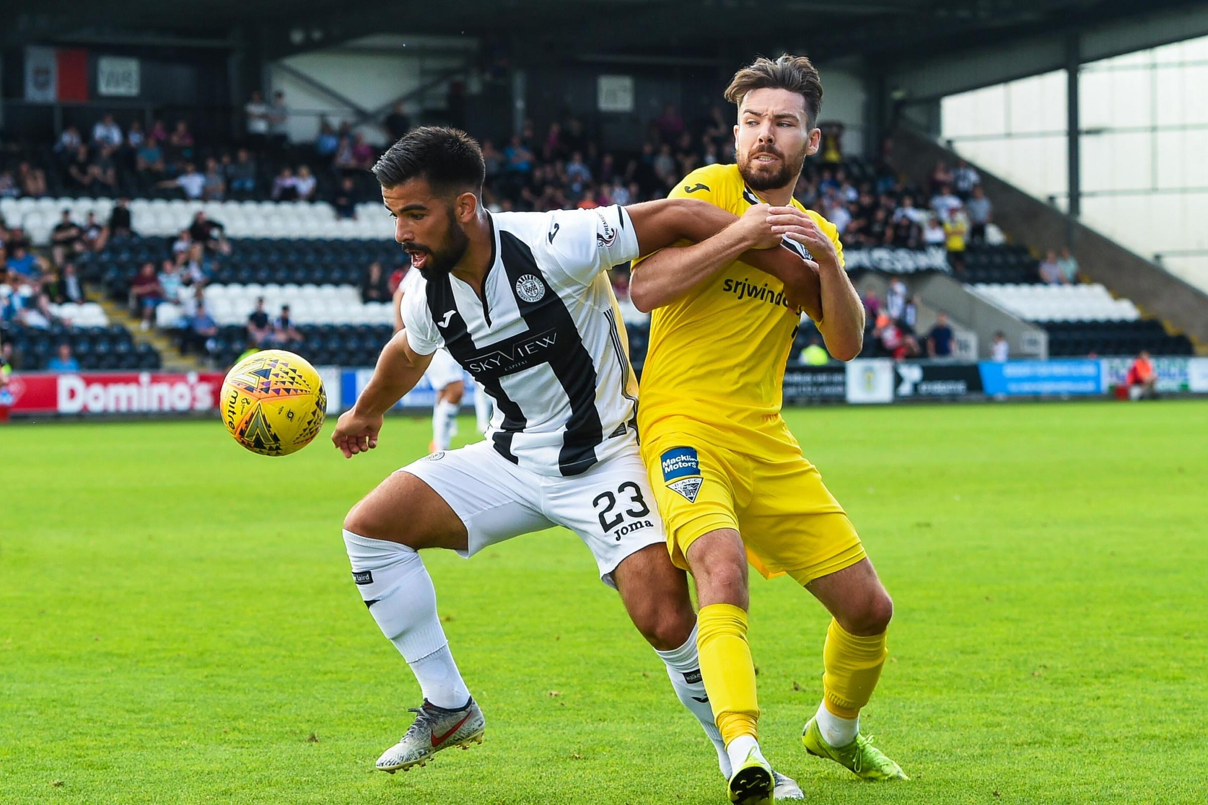 Djorkaeff says he will continue learning to live his own life at St Mirren