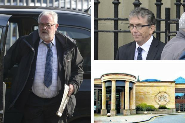 John Farrell, left, and Paul Kelly were convicted of abusing boys at St Ninian's School