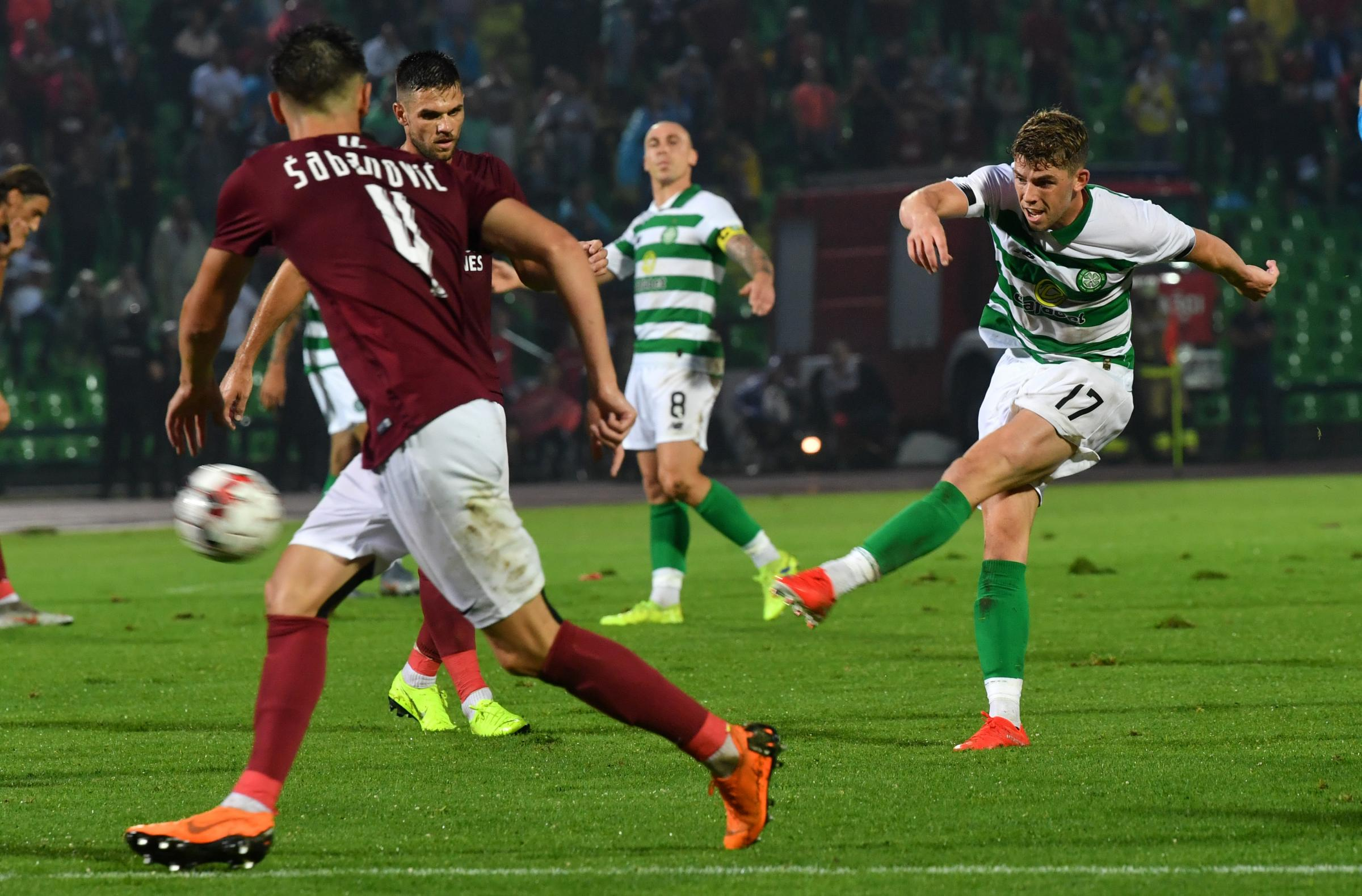 As it happened: Celtic 2-1 Sarajevo | Callum McGregor nets winner after Ryan Christie opener was cancelled out