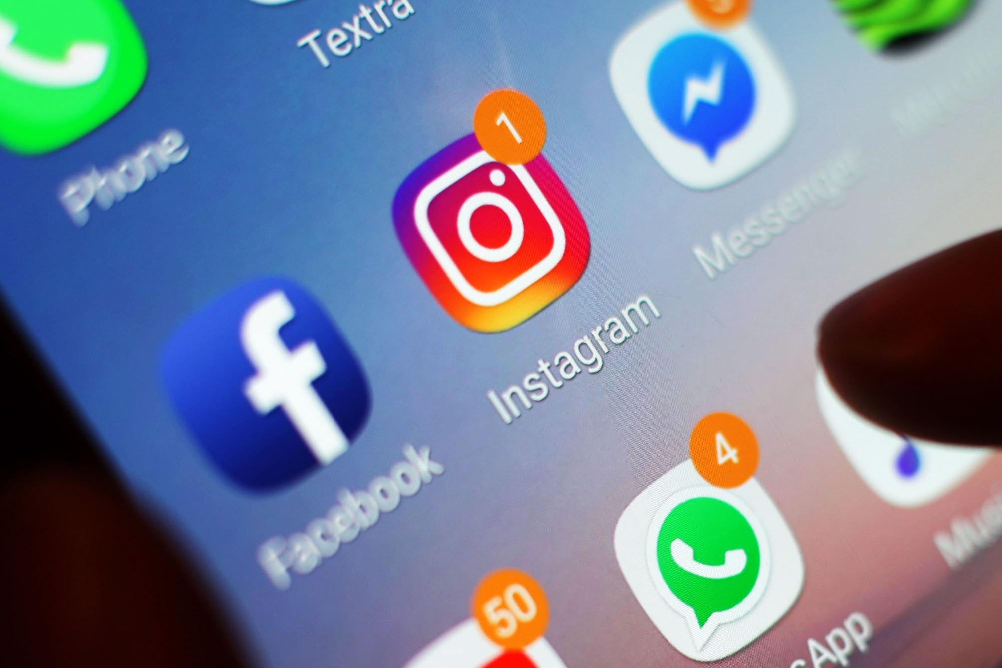 Instagram, Whatsapp y Facebook caen: los usuarios se quejan de que las aplicaciones dejan de funcionar