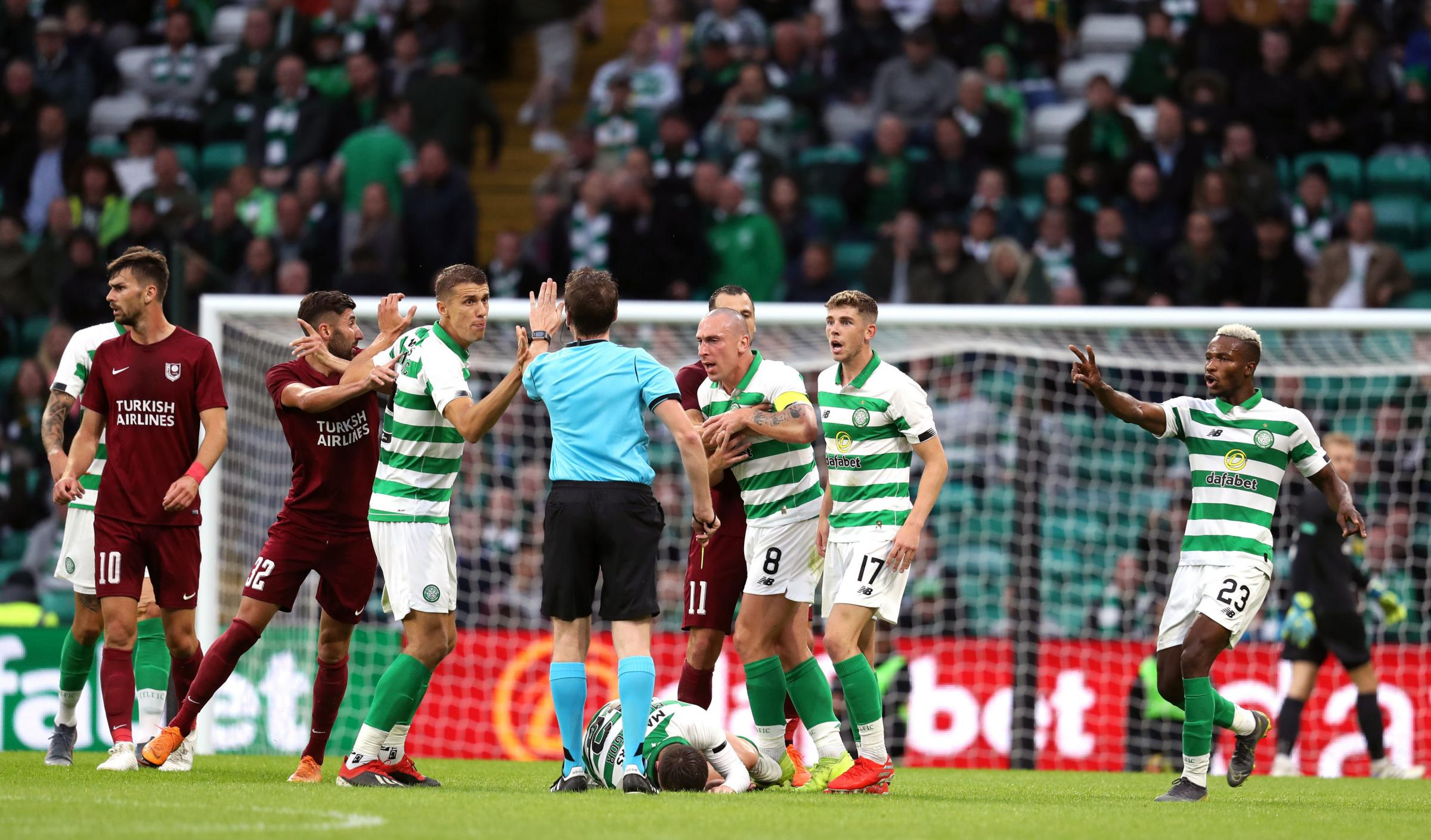 Who can Celtic be drawn against in the Champions League third qualifying round?