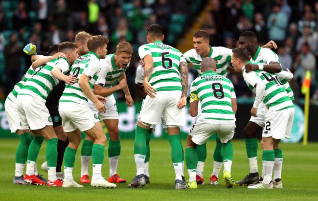 Celtic will play Nomme Kalju in the second qualifying round of the Champions League PHOTO: PA