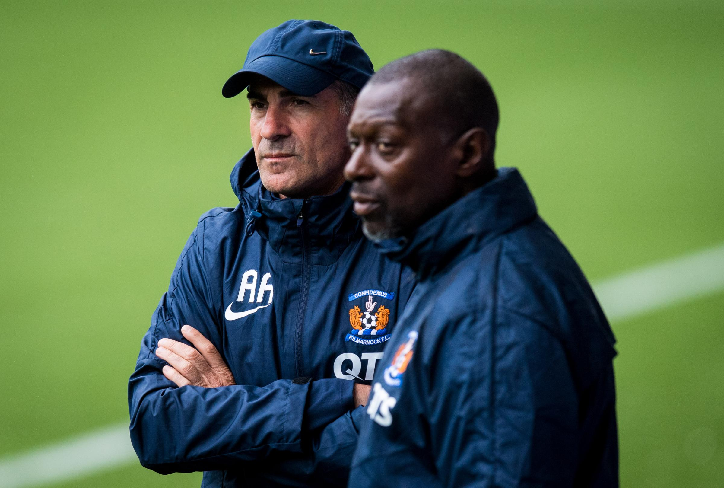 Kilmarnock boss Angelo Alessio picks up October's Manager of the Month award