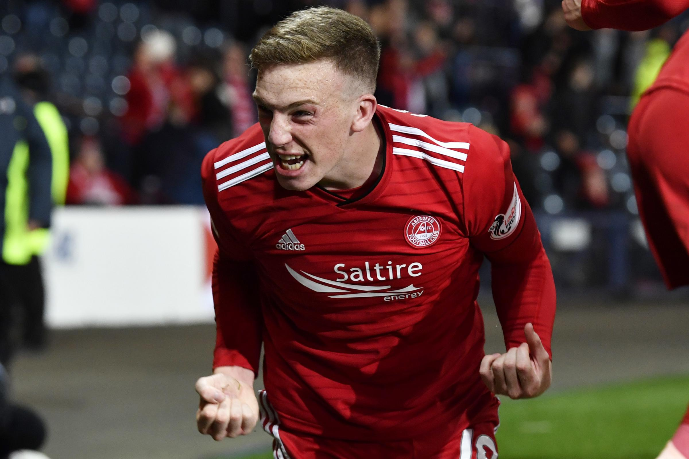 Confident Lewis Ferguson just the boy to take over Shinnie role at Aberdeen