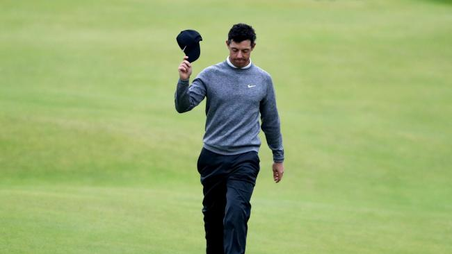 Home favourite Rory McIlroy misses out amid Open comeback attempt