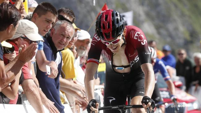 'Weak' Thomas suffers on Tourmalet as Alaphilippe extends overall lead