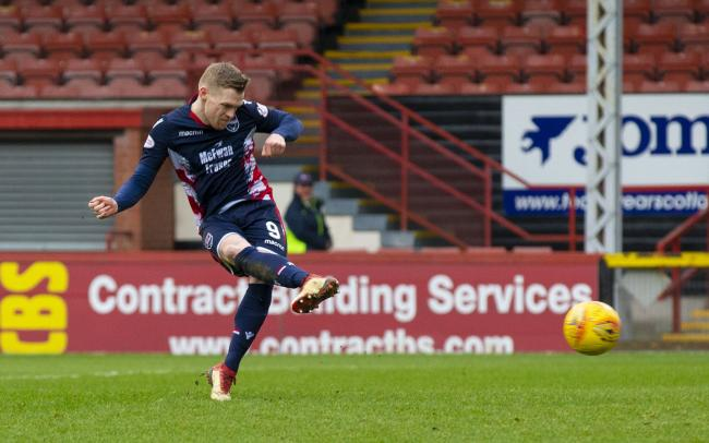 Ross County striker Billy McKay scored both goals in his side's 2-1 win over St Johnstone PHOTO: PA