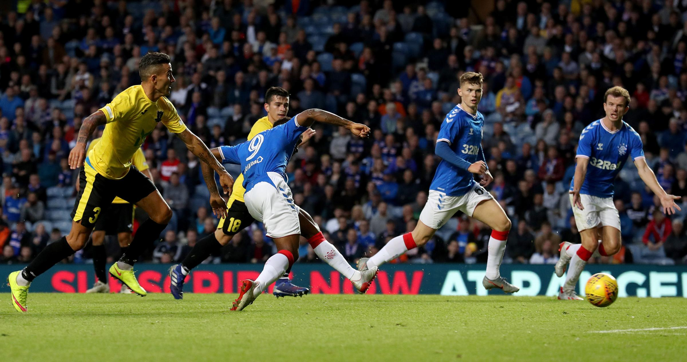Rangers to face Midtjylland in Europa League third qualifying round