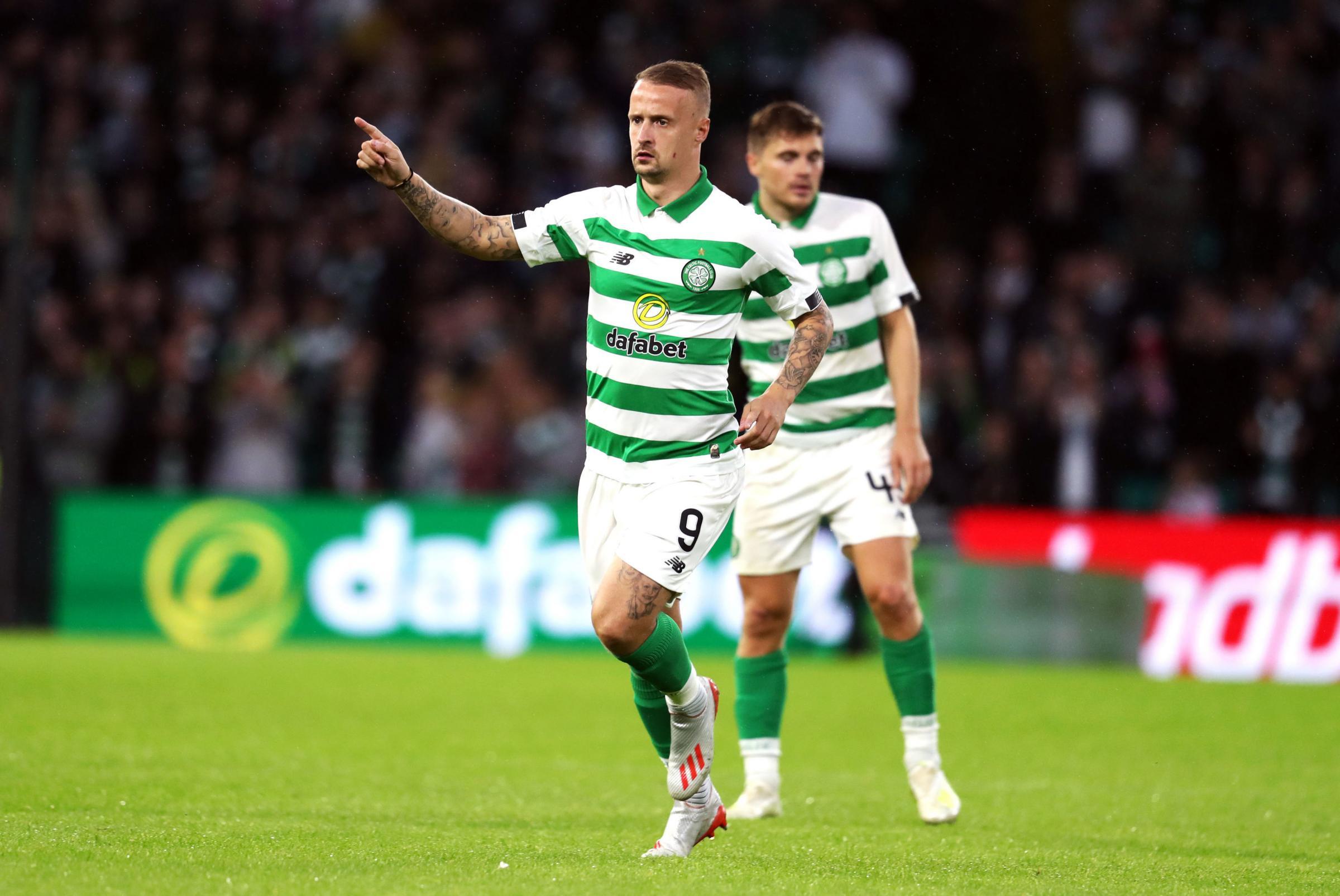 Celtic striker Leigh Griffiths reveals family pain of online drug and debt slurs