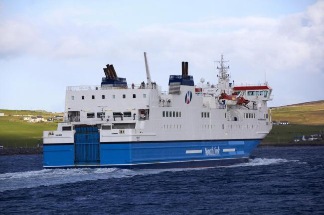 Northlink ferry leaves Lerwick. Getty Images
