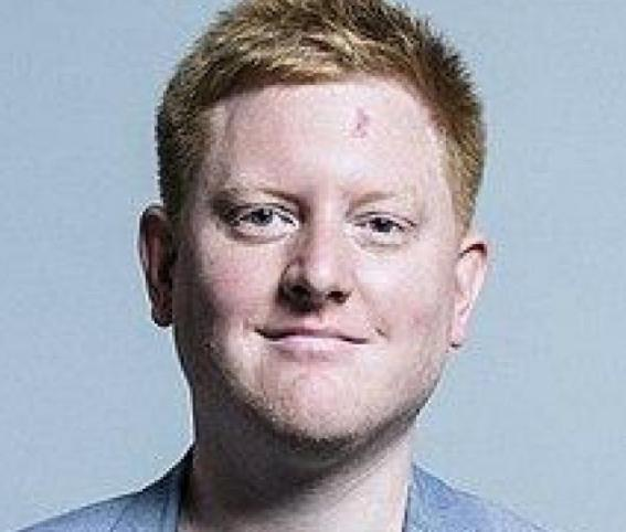 Jared O'Mara has been an MP since 2017