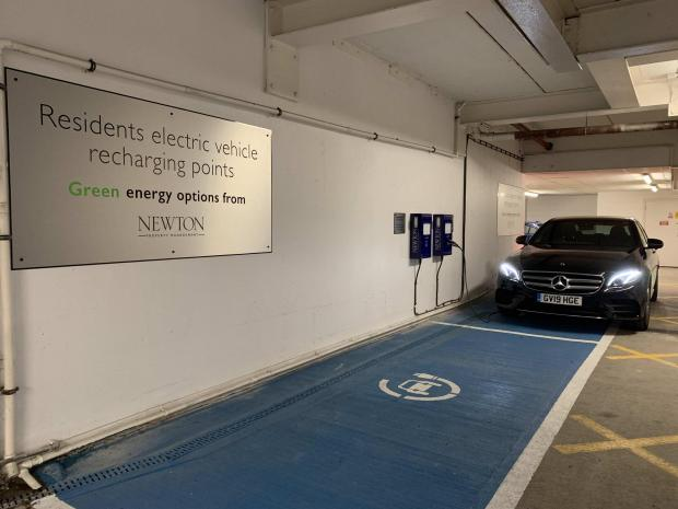 HeraldScotland: An EV charging station was recently installed at Glasgow Harbour.