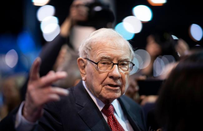 Warren Buffet has acquired extensive energy sector interests Picture: Getty Images